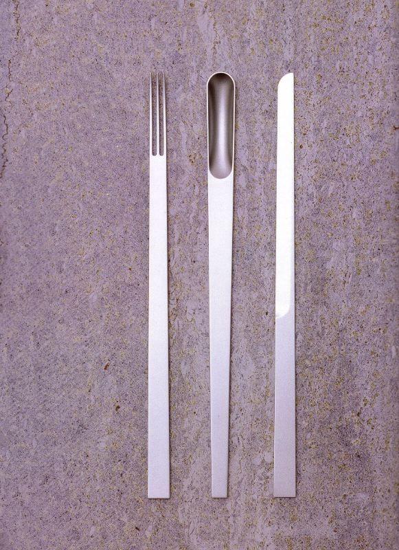 // Piattona cutlery by Elise Rijnberg