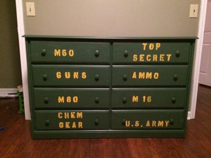 Army Bedroom Decor Boys