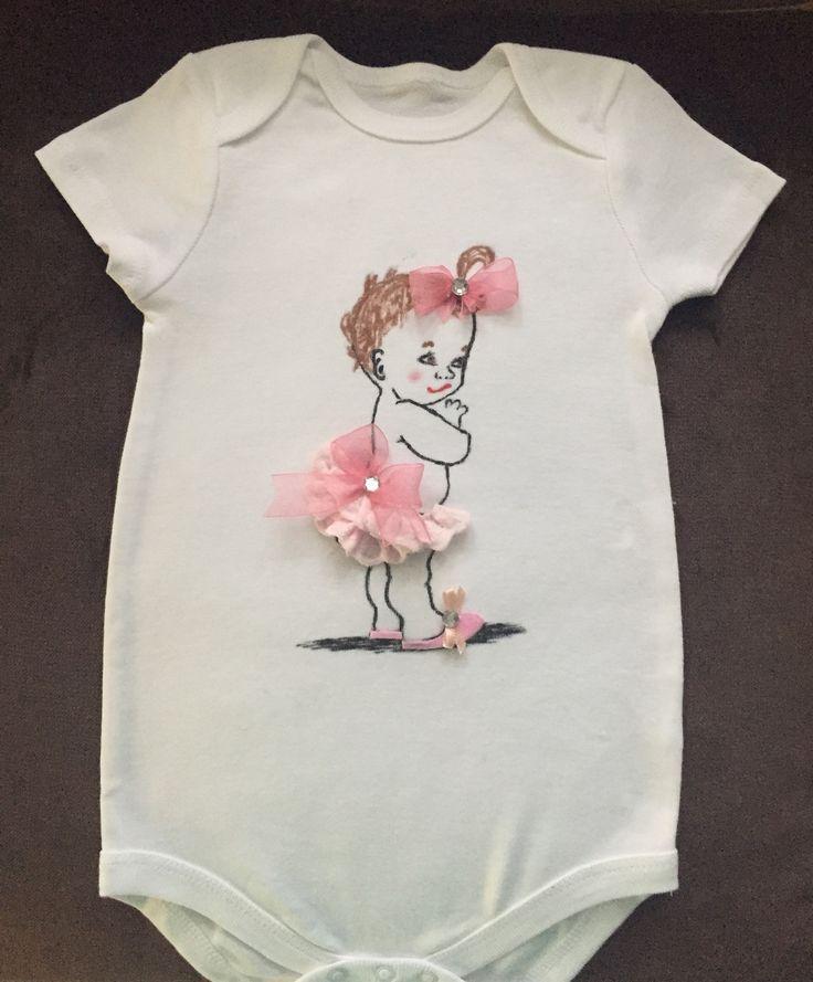 Doğum Günü Tişörtü El Boyaması -Kız Çocuk