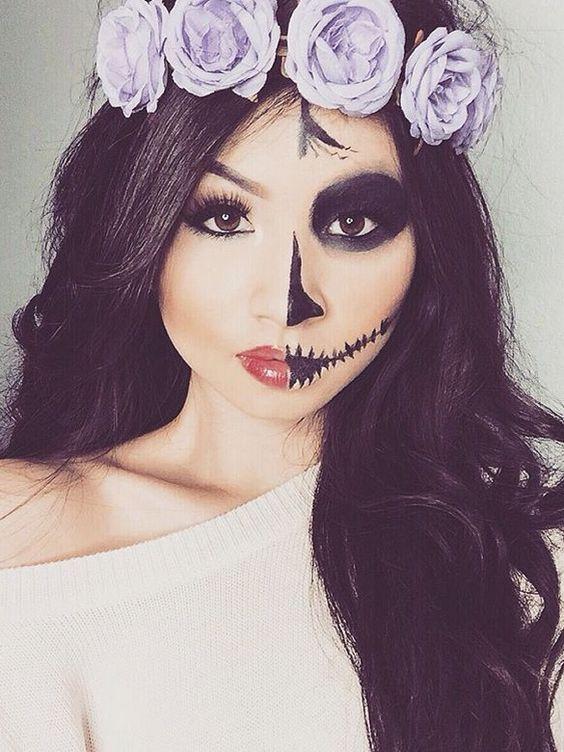 Easy Halloween Costume Ideas With Eyeliner   POPSUGAR Beauty