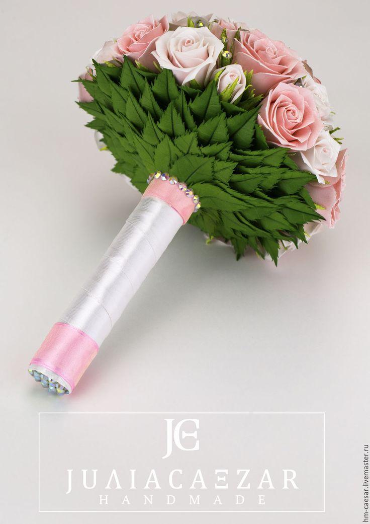 Создаем из фоамирана букет невесты Журнал