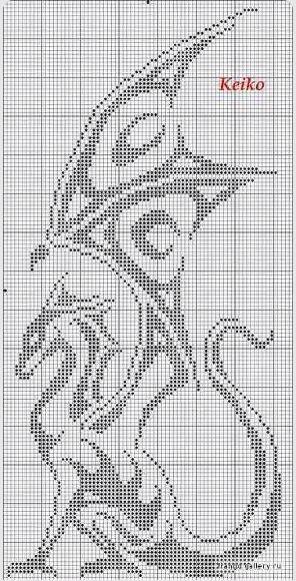 Pixel dragon! XD