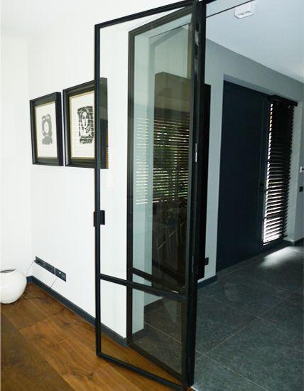 Meer dan 1000 idee n over vouwdeuren op pinterest bi vouwen deuren schuifdeuren en keuken - Metaal schorsing en glazen ...