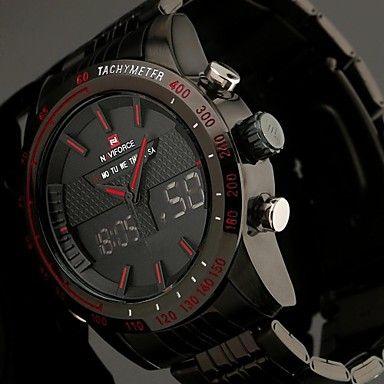 Men's+Full+Steel+Sport+Watch+Japanese+Quartz+Analog-Digital+LED/LCD/Multifunctional/Water+Resistant/Alarm+Military+Clock+–+USD+$+35.99