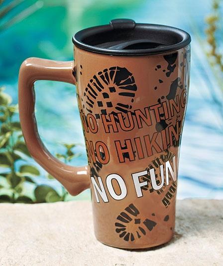 Humorous Sportsman's Travel Mug The Lakeside Collection