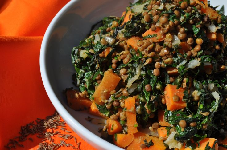 Silverbeet & Carrot Fry Up
