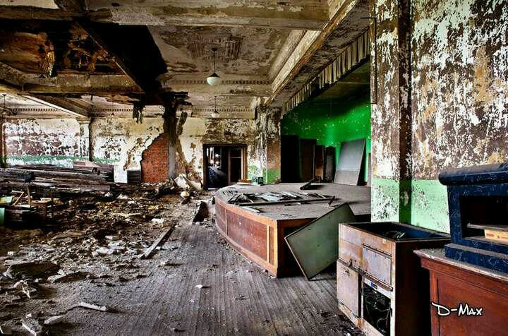 Inside Central Junior High School before they tore it down ...