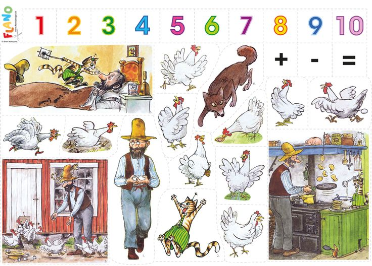 Math tales and number jingles are fantastic to play with and simplify math concepts using the flannel fairy tale stories.