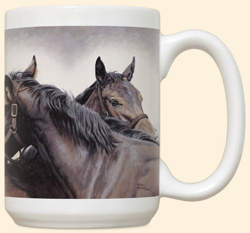 Special Connection Horse Mug