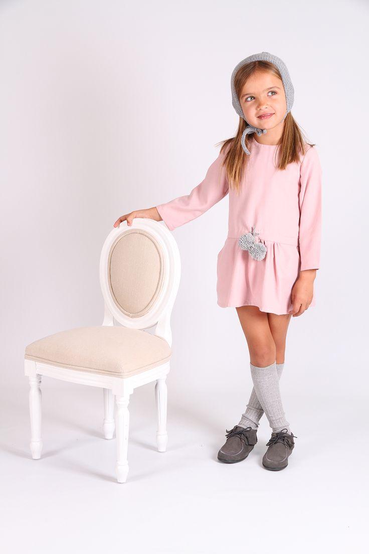 Vestido Charleston Rosa. El taller de la abuela