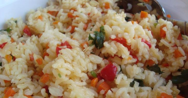 """I came across this recipe for Chilean Rice, although I'm not exactly sure what makes it """"Chilean."""" Regardless, it was a tasty and colorful a..."""