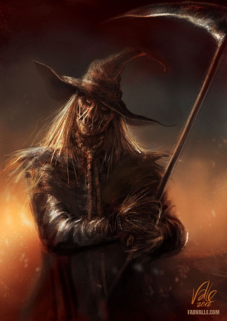 Scarecrow by Fabvalle.deviantart.com   Check us out at: https://www.facebook.com/OurWorldGeekery