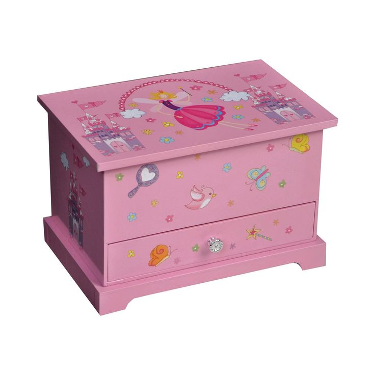 Mele & Co. Kerri Girls' Musical Ballerina Jewelry Box - Pink