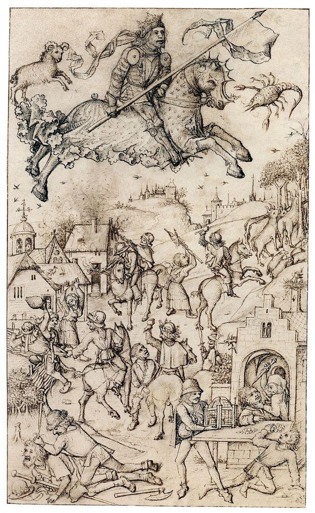 Hausbuch Wolfegg 13r Mars - Category:Mittelalterliches Hausbuch von Schloss Wolfegg – Wikimedia Commons