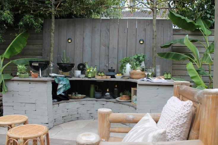 Australische tuin (deel 2) - Eigen Huis en Tuin  outdoor kitchen
