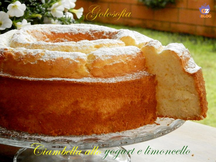 Ciambella+allo+yogurt+e+limoncello,+ricetta+buonissima!