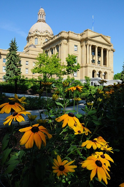 Alberta Legislature, in Edmonton Alberta Canada