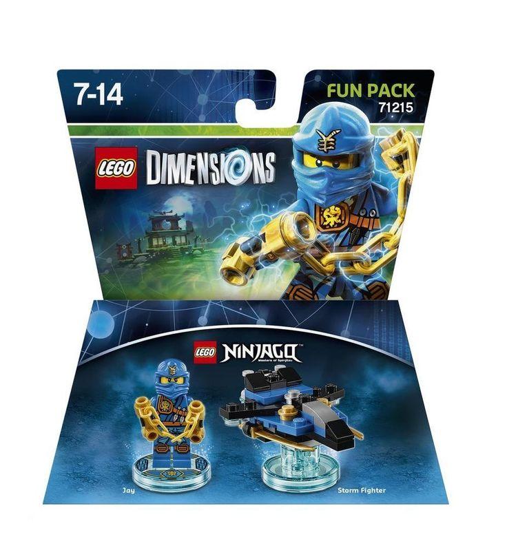 Lego dimensions Ninjago double fun pack - Zane (71217) and Jay (71215)