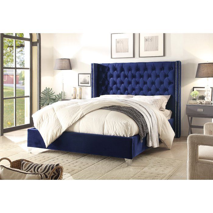 Best Inverness Upholstered Platform Bed With Images 400 x 300