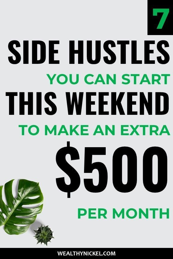 How to Make an Extra $500 a Month – Side Hustle