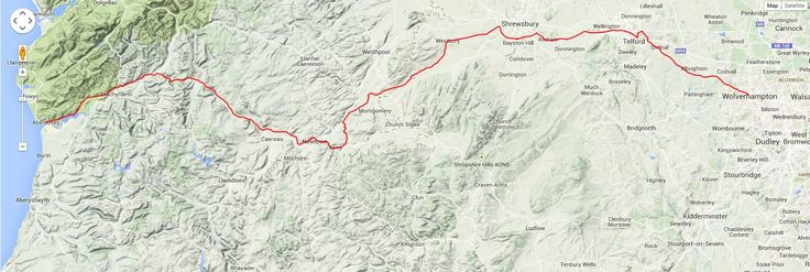 This is the route we will be taking