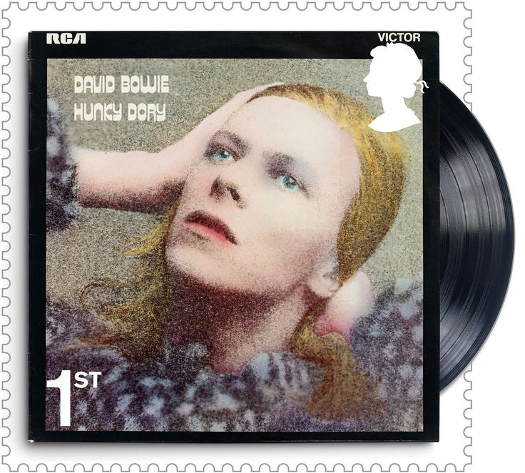 Let's post: David Bowie stamps – in pictures