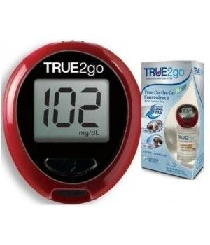 True 2 Go Blood Glucose Metertrue2go Blood Glucose