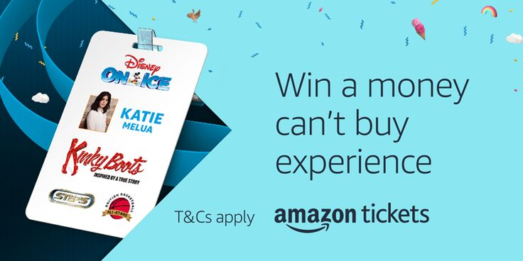 "Amazon Tickets Prime Day Prize Draw To celebrate Amazon Prime Day this year, Amazon Tickets are giving Prime members the chance to win one of five exclusive ""money can't buy"" experiences. Whether y…"