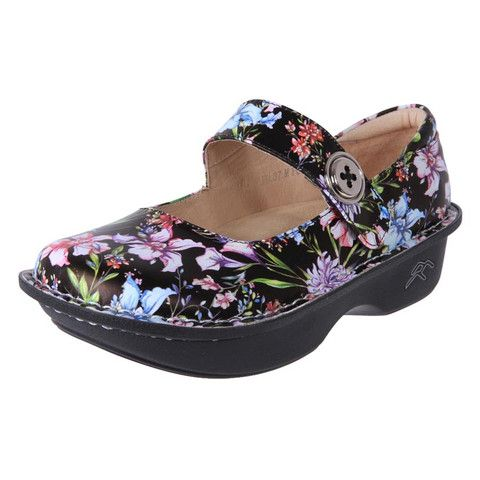 Buy funky unique flower design orthotic friednly shoes online in Australia | The Shoe Link