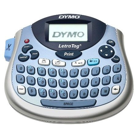 DYMO Letra Tag® Label Maker, 100T - Silver/Blue : Target