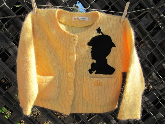 Adorable Upcycled Disney Mary Poppins girl sweater by FinchPickles, $26.00