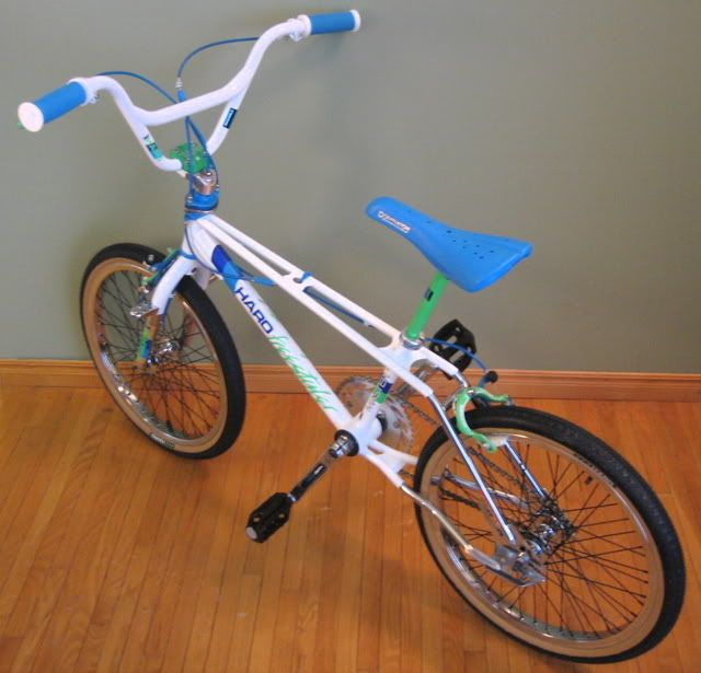 86 HARO Master - These were the only bikes I liked that had the unusual top bar