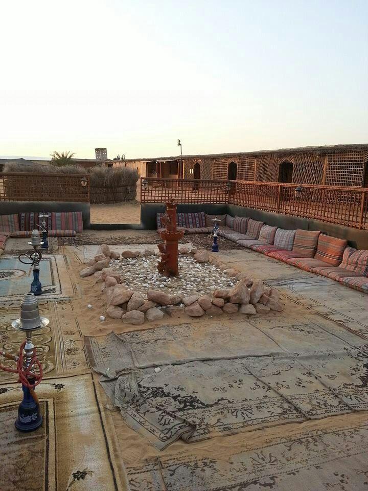 Desert hookah lounge