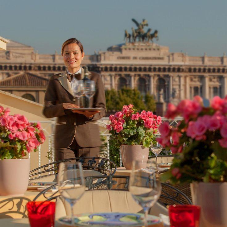 Hotel Raphaël Roma 5 stelle lusso - Relais & Châteaux   La Terrazza