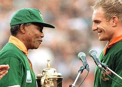 Invictus: Mandela and Pienaar - South Africa - Rugby World Cup champion 1995