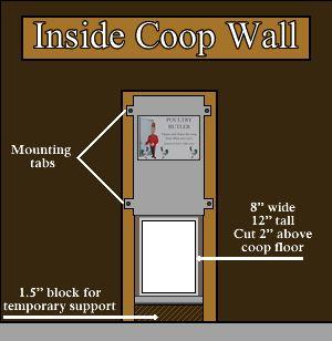 Automatic Chicken Coop Door - The Poultry Butler