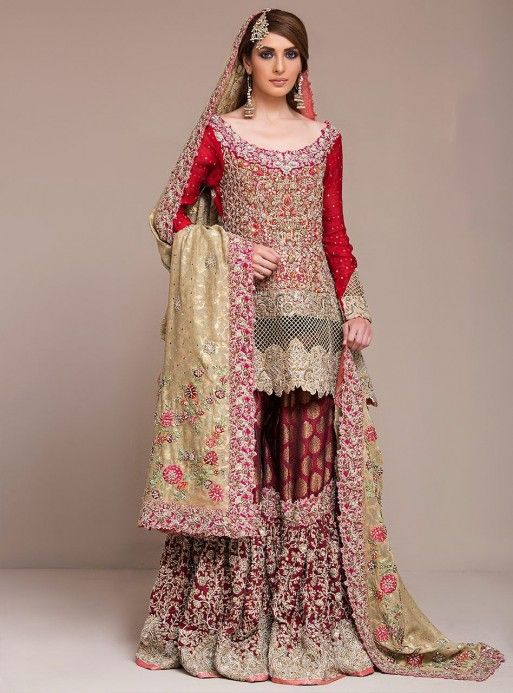 5564785536 Latest Pakistani Bridal Wedding Dresses 2018 Collection - StyleGlow.com