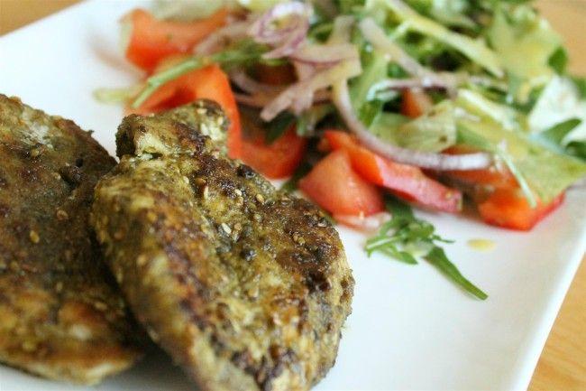 Nagyon finom csirkemell zatar fűszerkeverékkel - csirkemell receptek