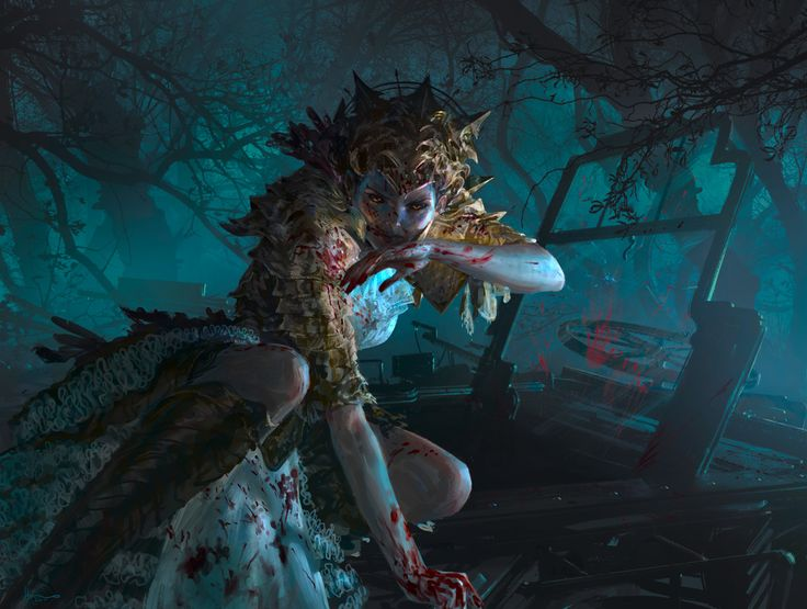 MtG: Bloodmad Vampire by algenpfleger on DeviantArt