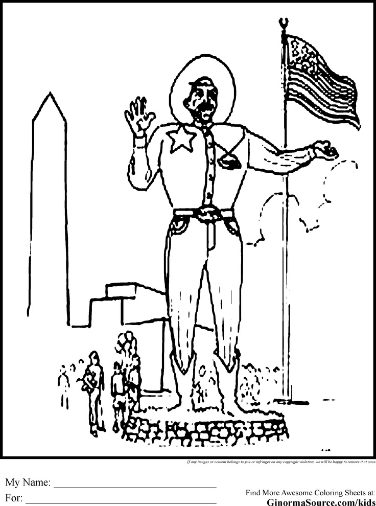 Texas Coloring Pages Coloring pages, Cool coloring pages