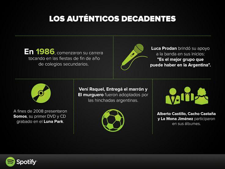 Los Auténticos Decadentes by Spotify Argentina.