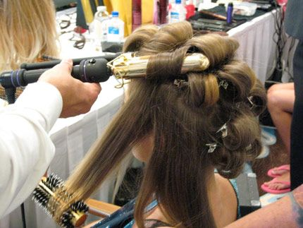 Hair: Victoria's Secret Runway Look