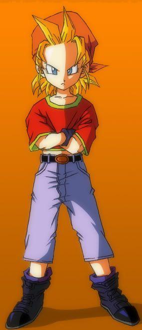 Pan SSJ 2 Dragon Ball af #fan_fiction #dbz