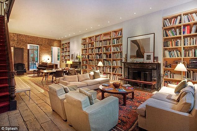 Home sweet home: The couple lives in a West Village townhouse that they bought for $28.5 million