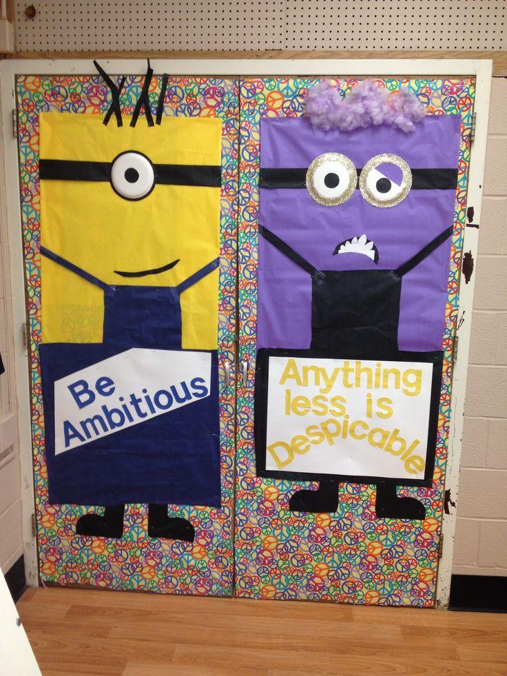 Minion Classroom Decoration Ideas ~ Best minion classroom door ideas on pinterest