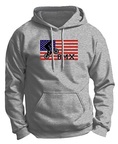 BMX Pegs American Pride Cycling BMX Bikes Premium Hoodie Sweatshirt XL Ash *** Want additional info? Click on the image.