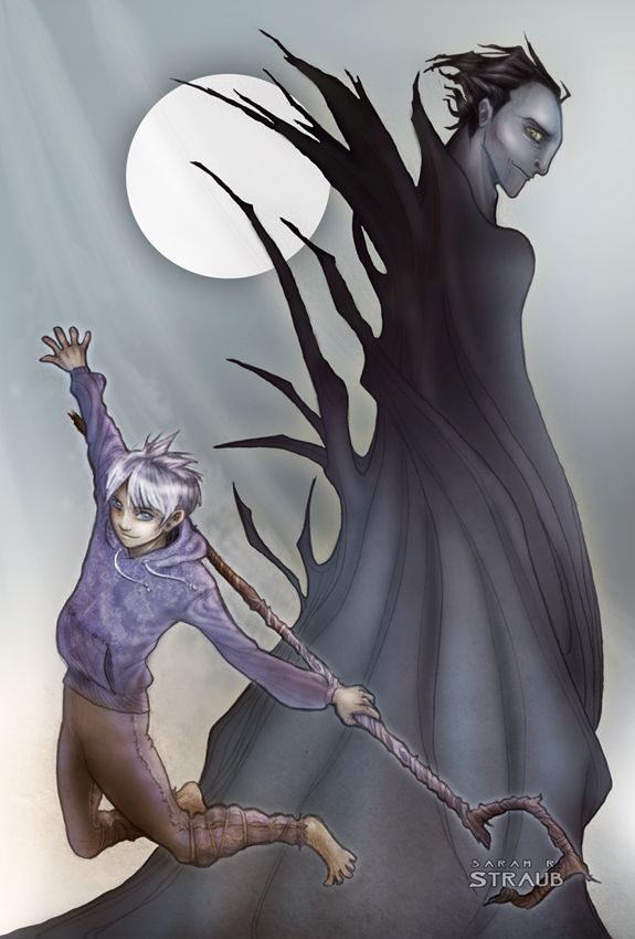jack frost and pitch black kiss - photo #22