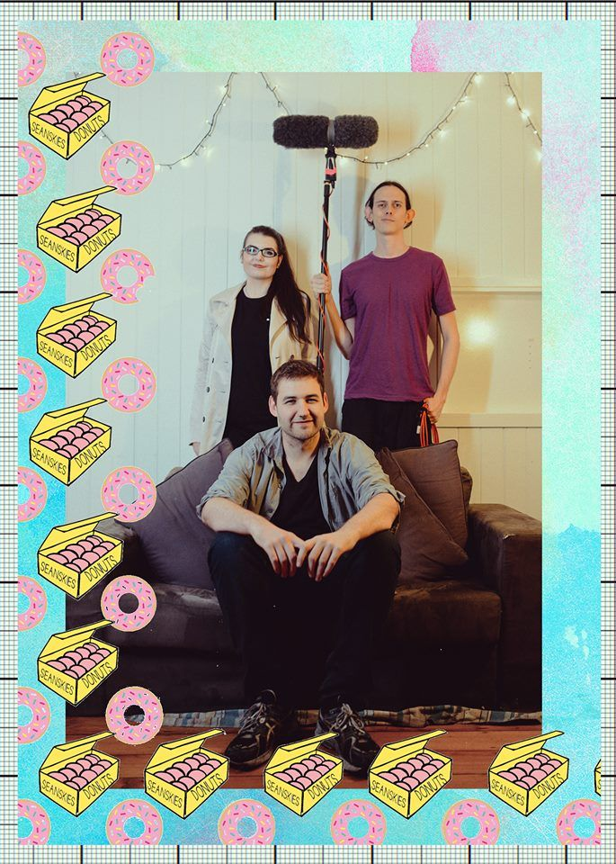 Sound Department from top left to top right  Taylor Harrison - Sound Designer Matt Dillon  - Sound Recordist Damon Sheridan - Boom Swing