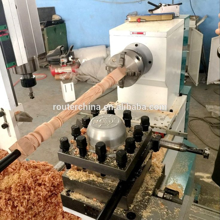 Best Price 1530 Auto Knife Change CNC Wood Lathe For Drilling Wood Making Wooden Vase