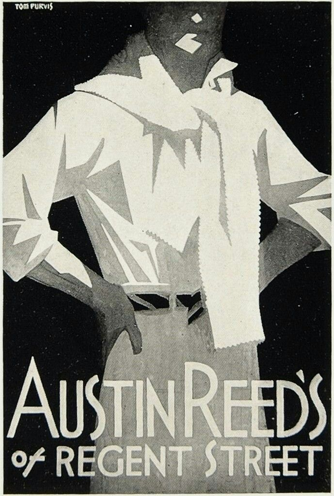 Austin Reed Austin Reed Art Deco Posters Art Deco Illustration